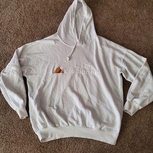 Liz Claiborne 90s Vintage Hoodie Sweatshirt M
